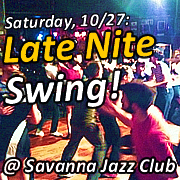 Late Nite Swing - October 27, 2012