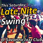 This Saturday - Late Nite Swing (180x180)