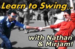 Learn to Swing with Nathan & Mirjam