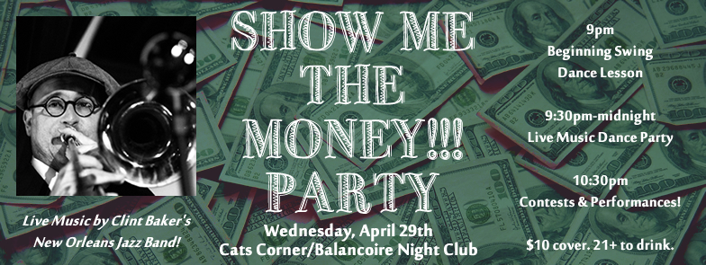 show me the money party with clint baker
