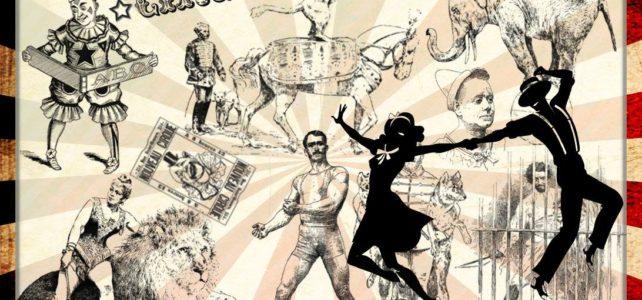 Jan 25: Vintage Circus Dress-up Ball with Steve Lucky & the Rhumba Bums!