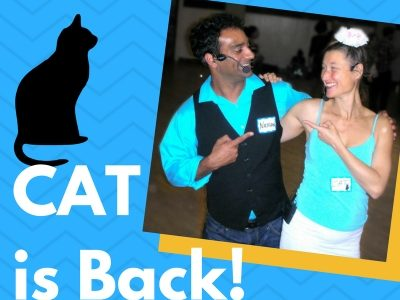 Saturday, June 17th: Cat is Back! Lindy Workshop & Blue Moon Ball