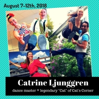 "August 7-12: Workshop and Classes with Catrine Ljunggren – the ""Cat"" of Cat's Corner"