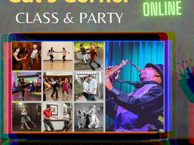August 2020: Cat's Corner is back with live stream classes and parties!